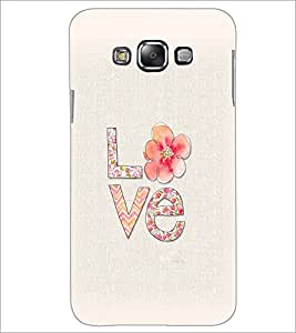 PrintDhaba Love D-2171 Back Case Cover for SAMSUNG GALAXY A8 (Multi-Coloured)