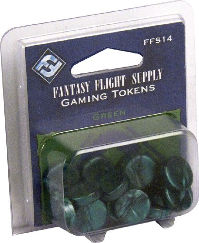 Fantasy Flight Supply: Green Gaming Tokens