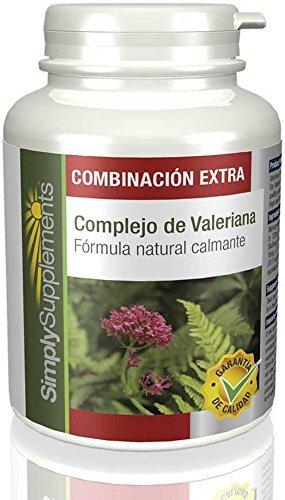 Valeriana Complex Contro Ansia, Stress e disturbi del sonno 120 Compresse SimplySupplements