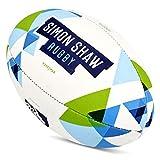 Simon Shaw Ballon de Rugby Taille 3