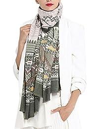 5e32494fdd99 GoGou Winter Schal Mode Frauen Warme Schal Luxus Ethnische Kaschmir Schals  Damen Decke Schals Bufandas 185
