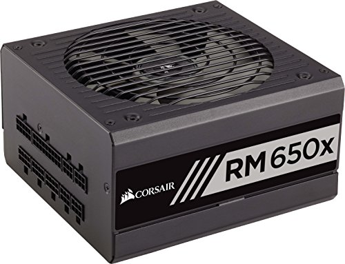 Corsair CP-9020091-EU RMX Series RM650X ATX/EPS Modulaire Complet 80 PLUS Gold 650W  Alimentation PC EU