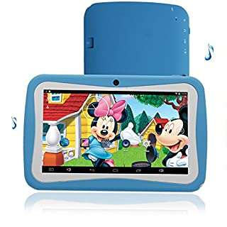 ARBUYSHOP 7 Inch KIDS Android Tablets PC WIFI Bluetooth Dual camera 8GB 1024*600 7 tab pc For baby and kids tablets Children's exclusive