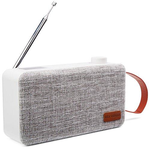 Radio 31W mit Bluetooth - Digital, Tragbar, FM/UKW, Weiß ()
