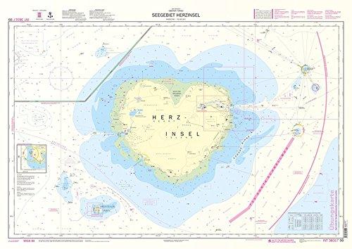 Lern-Seekarte 'Herzinsel'