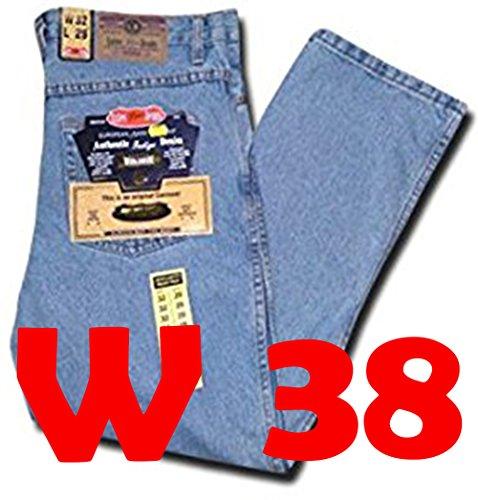 Mens Jeans SUPER STONE Blue 30 32 34 36 38 40 42 44 46 48 50 (Leg Size 29