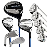 U.S. Kids Tour Series Golf Uskg Right Handed Right Hand TS 35 Complete Set (Pack of 10 Graphite) Complete Set 10 Parts, Graphite Shafts Perfect Club For Kids Ideal for Kids Golfschläger Youthful and