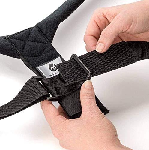 Premium Rückenstütze Haltungskorrektur, für Eine Bessere Körperhaltung und Unterstützung des Rückens Damen Herren Geradehalter | Haltungsbandage Rückenstützgürtel Rückenbandage | Deutsche Qualität |