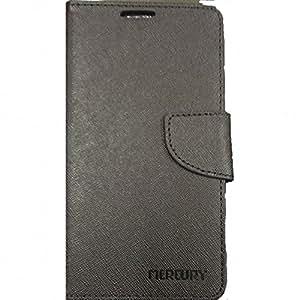 Mercury Goospery Flip Cover For Apple iPhone 5s - Full Black
