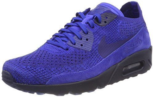 promo code 0150c eb062 Nike Air MAX 90 Ultra 2.0 Flyknit, Zapatillas para Hombre, Azul (Racer Deep