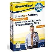 SteuerSparErklärung 2017 für Selbstständige (für Steuerjahr 2016)