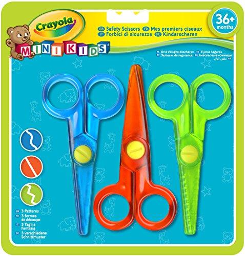 Crayola 81-8119-E-000 - 3 Kinder-Scheren