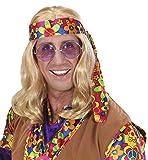 WIDMANN 6496l–Perruque Hippie geck