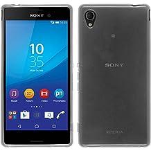 PhoneNatic Case - Funda para Sony Xperia M4 Aqua, transparente