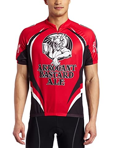 Canari Men's Arrogant Cycling Jersey, Red, Large