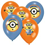 6 Rundballons - Ø 30cm - Minions ++ 6 ++ High Quality - Premiumline Luftballons ++ VERSANDKOSTENFREI vom Luftballonprofi & Heliumballon - Experten aus Deutschland galleryy ++