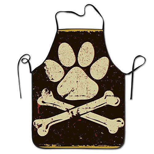 Fgjghkg - grembiule da cucina con bandiera dei pirati, regolabile, in poliestere, per adulti, ideale per cucinare all'aperto, ristorante, servire, giardinaggio, barbecue, barbecue