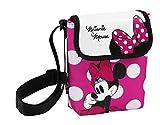 Minnie Mouse - Borsa a tracolla, 17 x 17 x 5 cm (Safta 611 513 220)