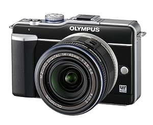 Olympus Pen E-PL1 Kit compact hybride Boîtier Noir 12,3 Mpix + Objectif 14 42mm Noir