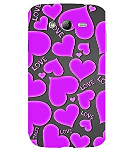printtech Love Hearts Pattern Back Case Cover for Samsung Galaxy Grand i9080 / Samsung Galaxy Grand i9082