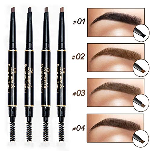 KHKJ 2019 New Brand Eye Brow Tint Cosmetics Natural Long Lasting Paint Tattoo Eyebrow Waterproof Black Brown Eyebrow Pencil Makeup
