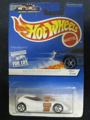 Hotwheels White Ice Series #4 Twin Mill II -
