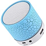 Rhobos Wireless Light Bluetooth Speakers With Calling Functions & FM Radio For One Plus 5t & Samsung A9 Mobile