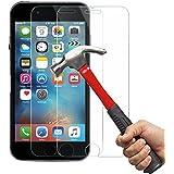 iPhone 6/6S Protection écran Kapoo 3D Touch Compatible-Verre trempéiPhone 6/6Sécran de protection en verre Travailler avec iPhone 6/6S la plupart des cas de protection[Lot de 2]