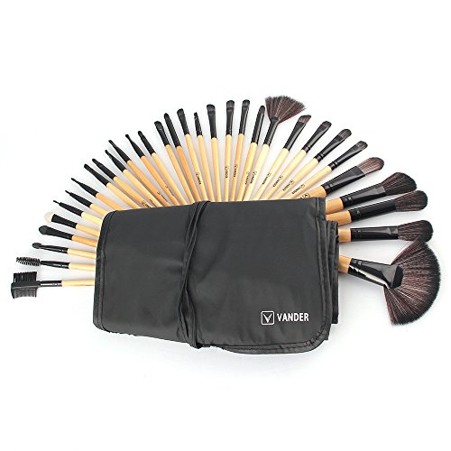 Make-up-Pinsel set, Makeup Brush Set tools Make-up Toiletry Kit Wool Make Up Brush Set Make Up...