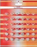 2x Alkaline Knopfzellen 36er - Sortiment