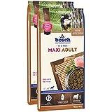Bosch Hundefutter verschiedene Sorten 2x15kg Maxi Adult