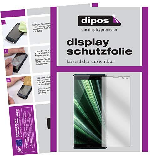 dipos I 6X Schutzfolie klar passend für Sony Xperia XZ3 Folie Bildschirmschutzfolie