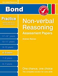 Bond Assessment Papers Non-Verbal Reasoning 8-9 yrs