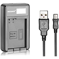 Neewer USB Battery Charger for EN-EL14 Rechargeable Battery for Nikon Coolpix P7000, P7100, D3100, D3200, D3300, D5100 D5200 D5300