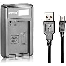 Neewer Chargeur de Batterie EN-EL14 usb