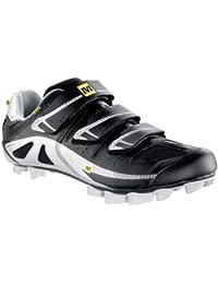 Mavic zapatos Zapatos BTT pulso negro/metalizado plata/amarillo para hombre