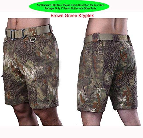 c2be7db907ce WorldShopping4U Militär Kampf der Männer BDU 1 2 kurze Hosen-Hose Multi  Pouch (