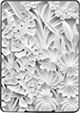 Flowers and Leave Marble Sculpture Motif Kindle Paperwhite Vinyl Decal Sticker Skin by Moonlight Printing