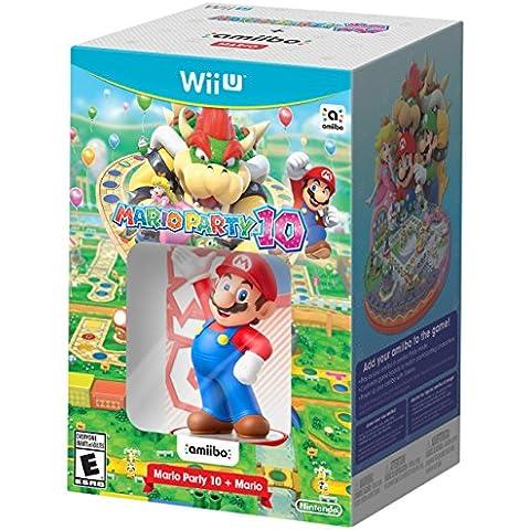Mario Party 10 + Mario amiibo Bundle - Wii U by Nintendo