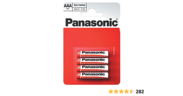 Panasonic 1010 Zinc R03r Aaa Micro Special Power Elektronik