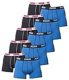 10 er Pack Puma Boxer shorts / blau dunkelgrau / Size M / Herren Unterhose