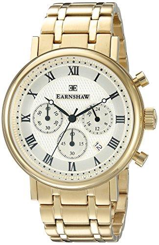 Thomas Earnshaw Men's ES-8051-22 Beaufort Analog Display Japanese Quartz Gold Watch