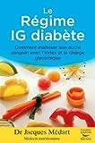 Le régime IG diabète