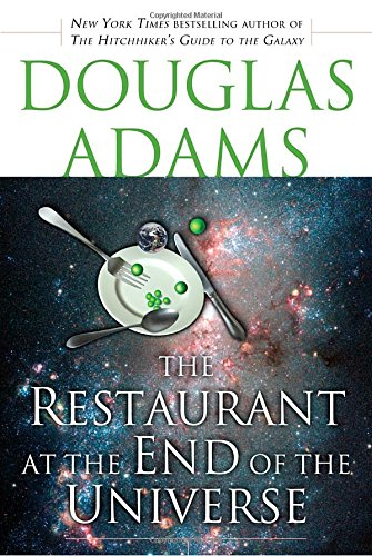 Book cover for The Restaurant at the End of the Universe