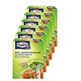 Toppits Obst- und Gemüse-Beutel 7x3Liter Hält biszu 3x länger frisch (6er Pack)