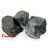 Finn Line peridodit piedras de sauna 20kg I Sauna piedra clásico para Private industriales y estufas de sauna I Sauna accesorios