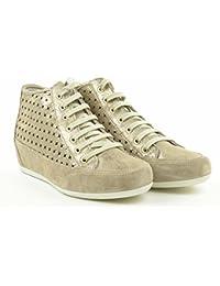 IGI&CO zapatillas de deporte de cuña interior zapatos de mujer 77823/00 talla 35 Beige G63DaHSj