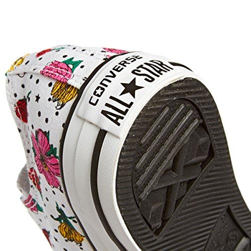 Converse Star Ox Donna Sneaker Bianco Multicolore