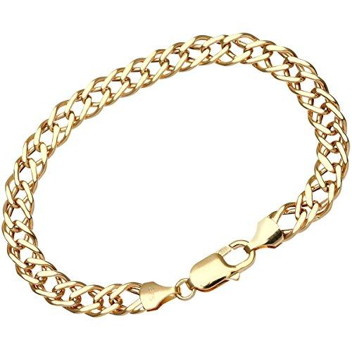 Citerna Damen-Armband 9 K Gelbgold 7mm HGR2D120-7.5