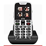 #6: New easyfone range launched by SENIOR WORLD. elite from easyfone - India's most senior citizen friendly phones. With superb sound quality & over 20 senior friendly features (White)